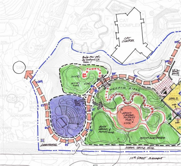 Henry Doorly Zoo Conservation Academy sketch, image courtesy of DLR Group.
